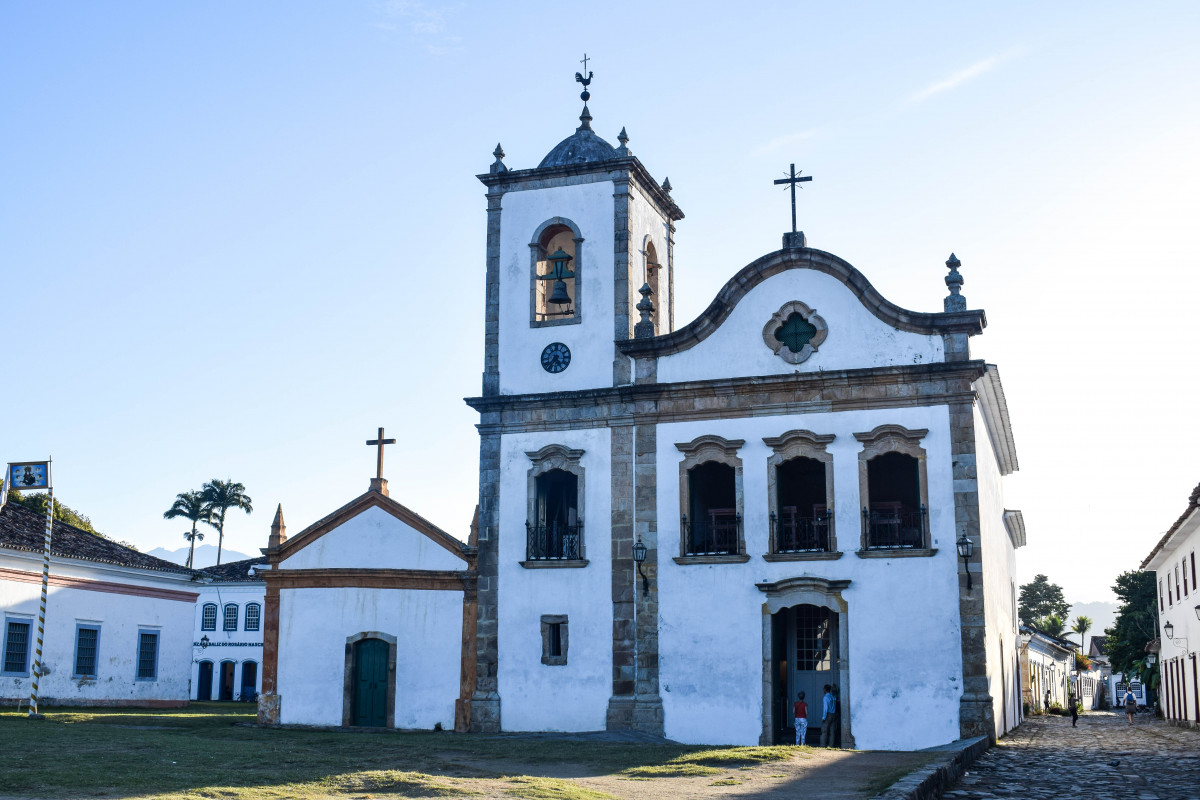 Paraty church brazil